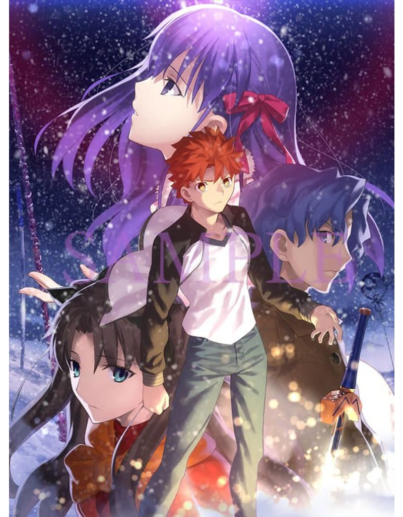 Fate Stay Night Heaven S Feel I Presage Flower Le Blu Ray Collectors Anime Llc
