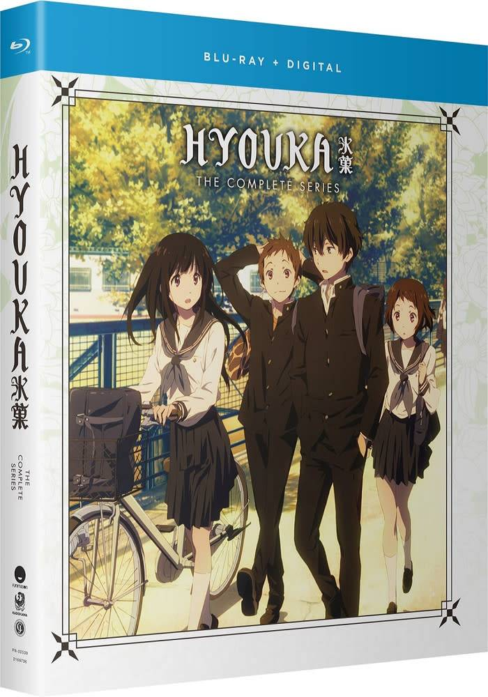 Funimation Entertainment Hyouka Complete Series Blu-Ray