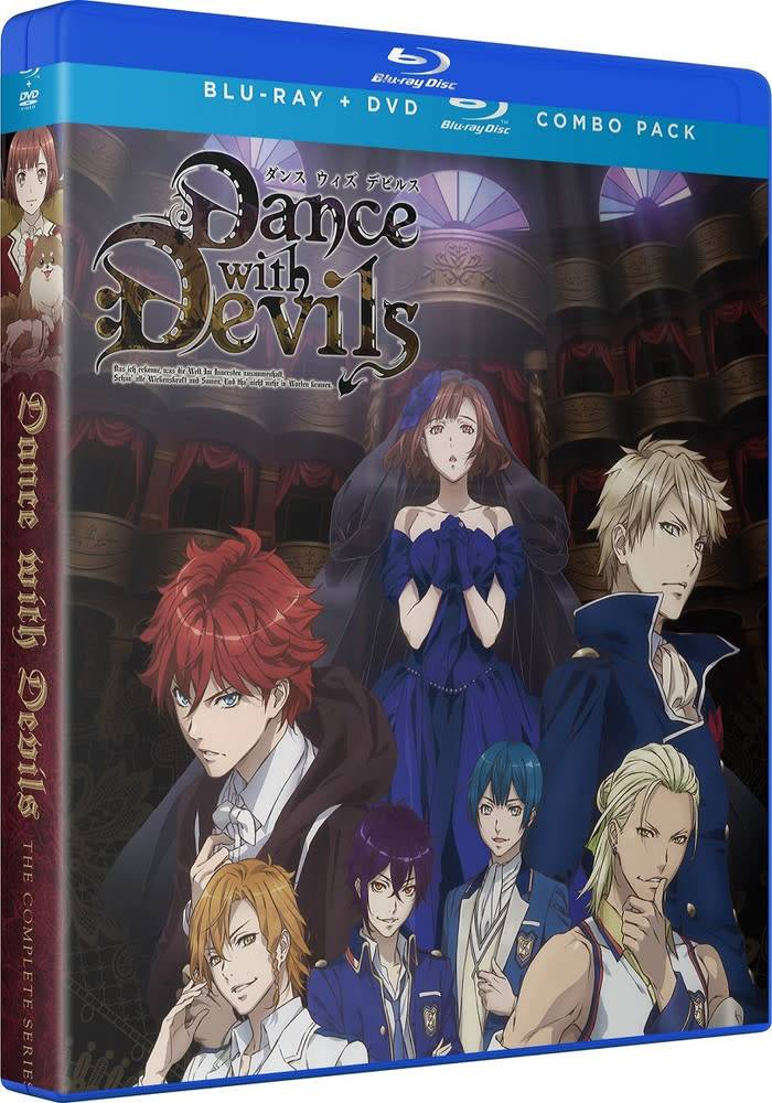 Funimation Entertainment Dance With Devils Essentials Blu-Ray