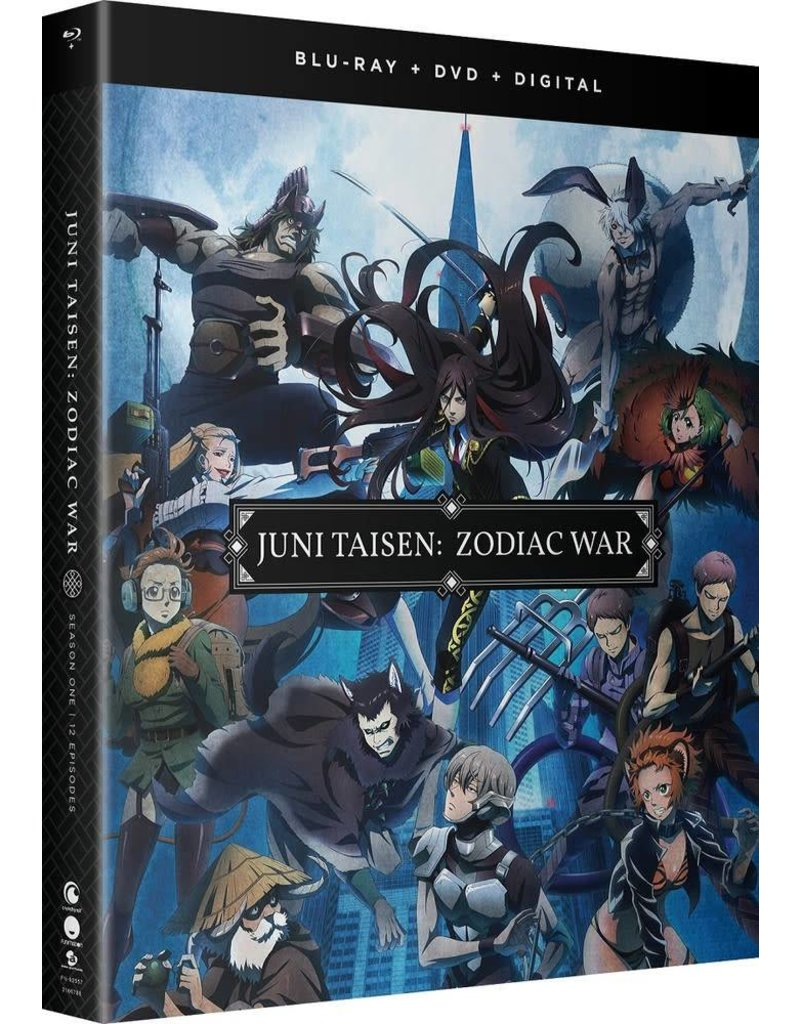 Funimation Entertainment Juni Taisen Zodiac War Season 1 Blu-Ray/DVD*