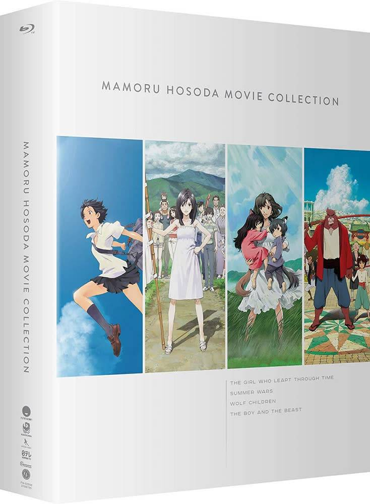 Funimation Entertainment Mamoru Hosoda Movie Collection Blu-Ray