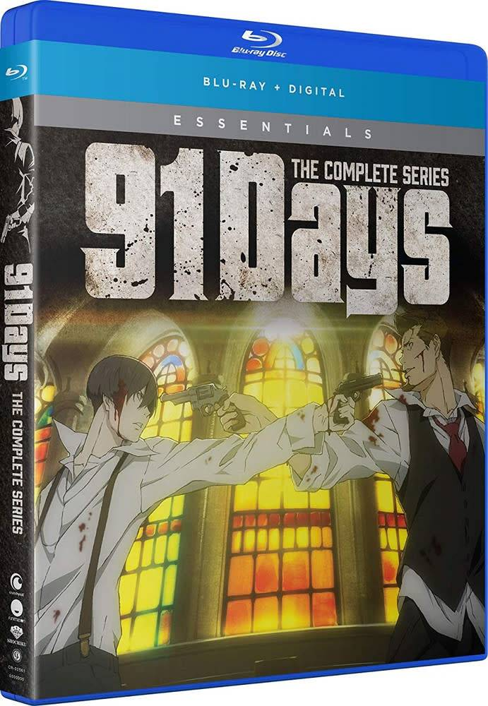 Funimation Entertainment 91 Days Essentials Blu-Ray