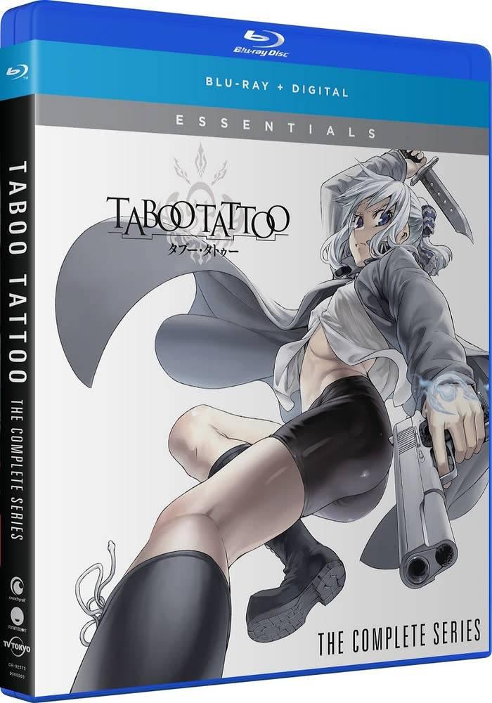 Funimation Entertainment Taboo Tattoo Essentials Blu-Ray