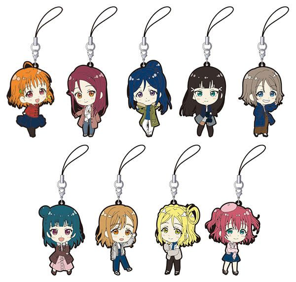 Love Live! Sunshine!! (Casual Outfit) Rubber Straps Full Box