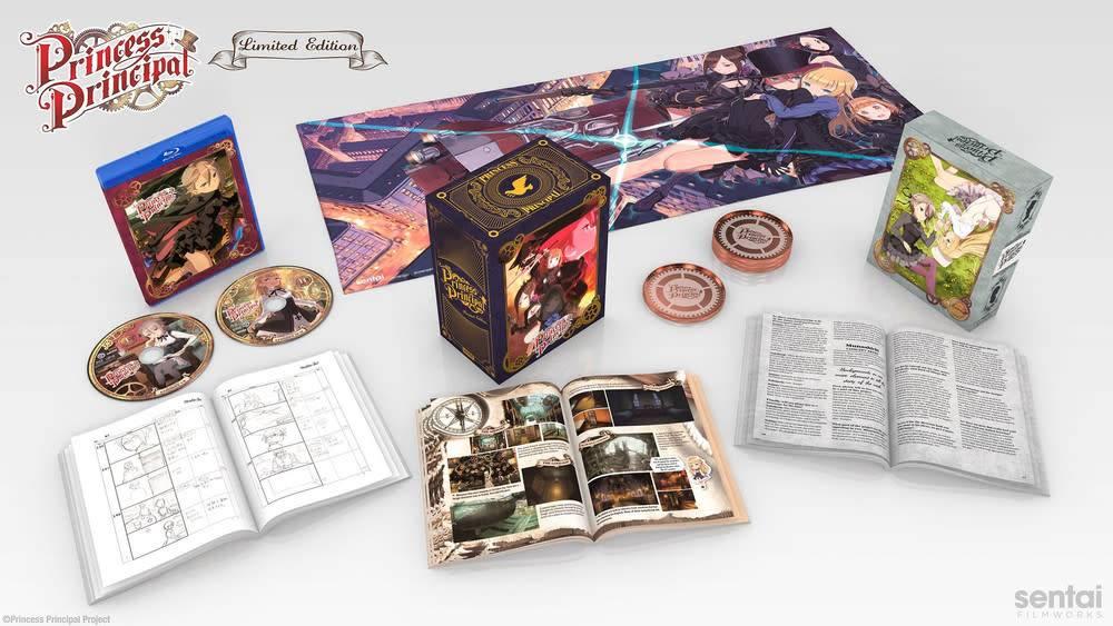 Sentai Filmworks Princess Principal Premium Edition Blu-Ray