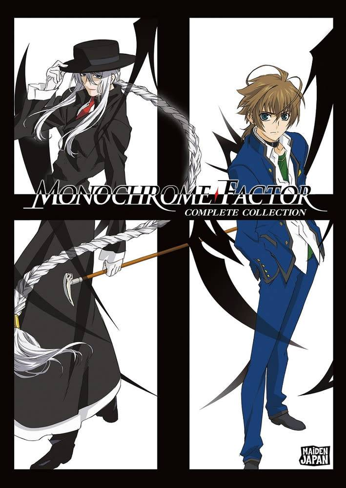 Sentai Filmworks Monochrome Factor DVD