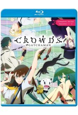 Sentai Filmworks Gatchaman Crowds Complete Collection Blu-Ray