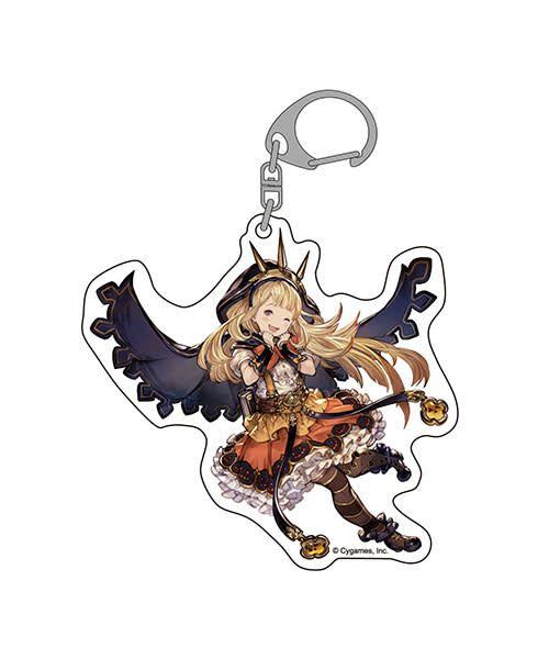 Granblue Fantasy Halloween Big Acrylic Keychain Cagliostro