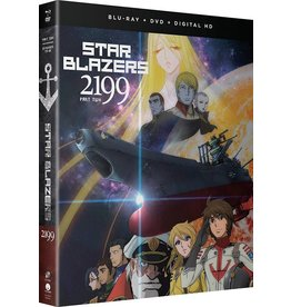 Funimation Entertainment Star Blazers Space Battleship Yamato 2199 Part 2 Blu-Ray/DVD