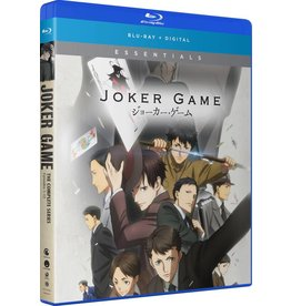 Funimation Entertainment Joker Game Essentials Blu-Ray