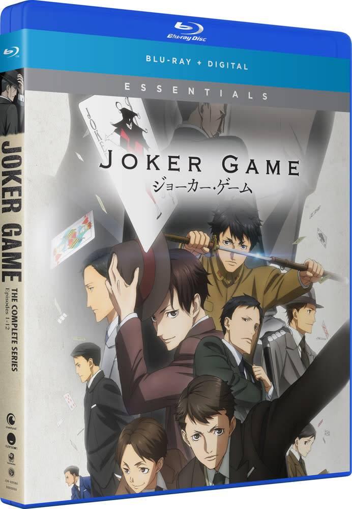Funimation Entertainment Joker Game Essentials Blu-Ray