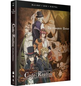 Funimation Entertainment Code:Realize Guardian Of Rebirth Blu-Ray/DVD