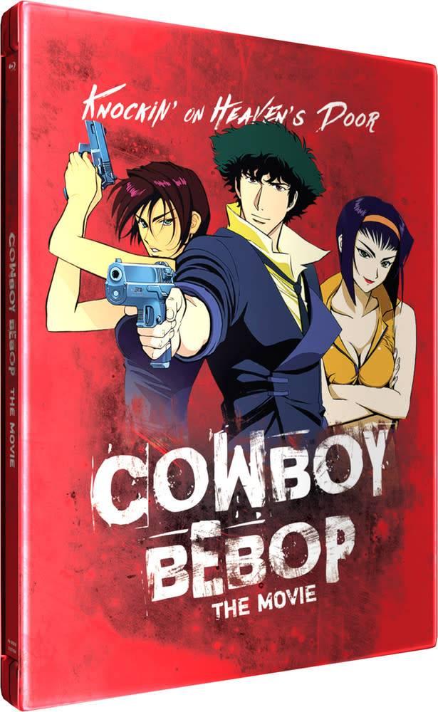 Funimation Entertainment Cowboy Bebop The Movie Knocking On Heaven's Door Steelbook Blu-Ray
