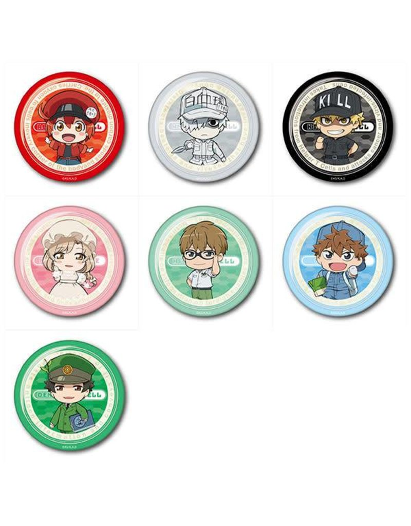 Cells at Work Trading Can Badge