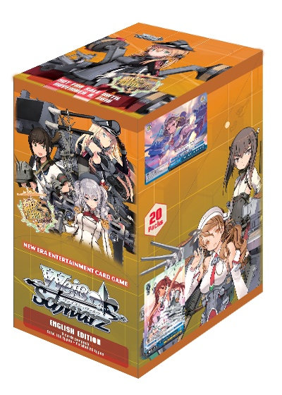 Bushiroad Kantai Collection Europe Fleet (Full Booster Box) Weiss Schwarz