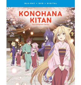 Funimation Entertainment Konohana Kitan Blu-Ray/DVD