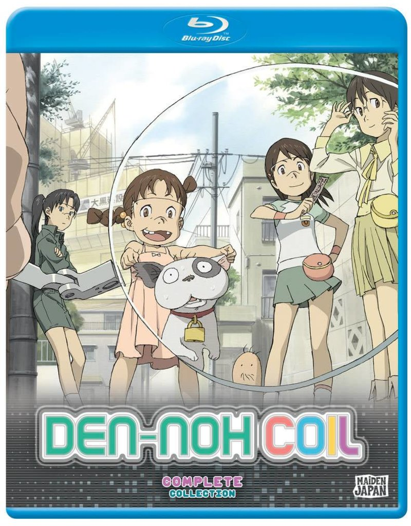 Sentai Filmworks Den-noh Coil Complete Collection Blu-Ray