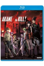 Sentai Filmworks Akame Ga Kill Complete Collection Blu-Ray