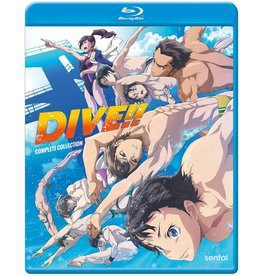 Sentai Filmworks Dive!! Complete Collection Blu-Ray