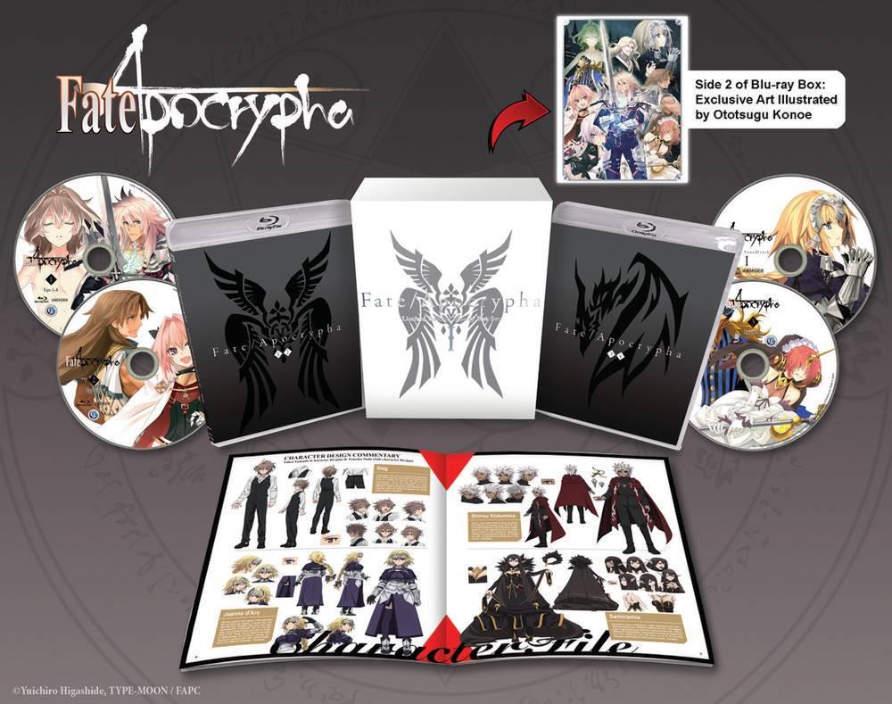 Aniplex of America Inc Fate/Apocrypha Box Set 1 Blu-Ray