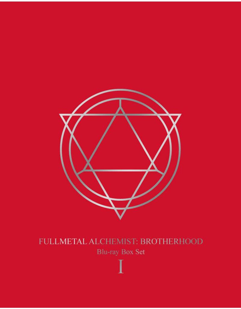 Aniplex of America Inc Fullmetal Alchemist Brotherhood Box Set 1 Blu-Ray