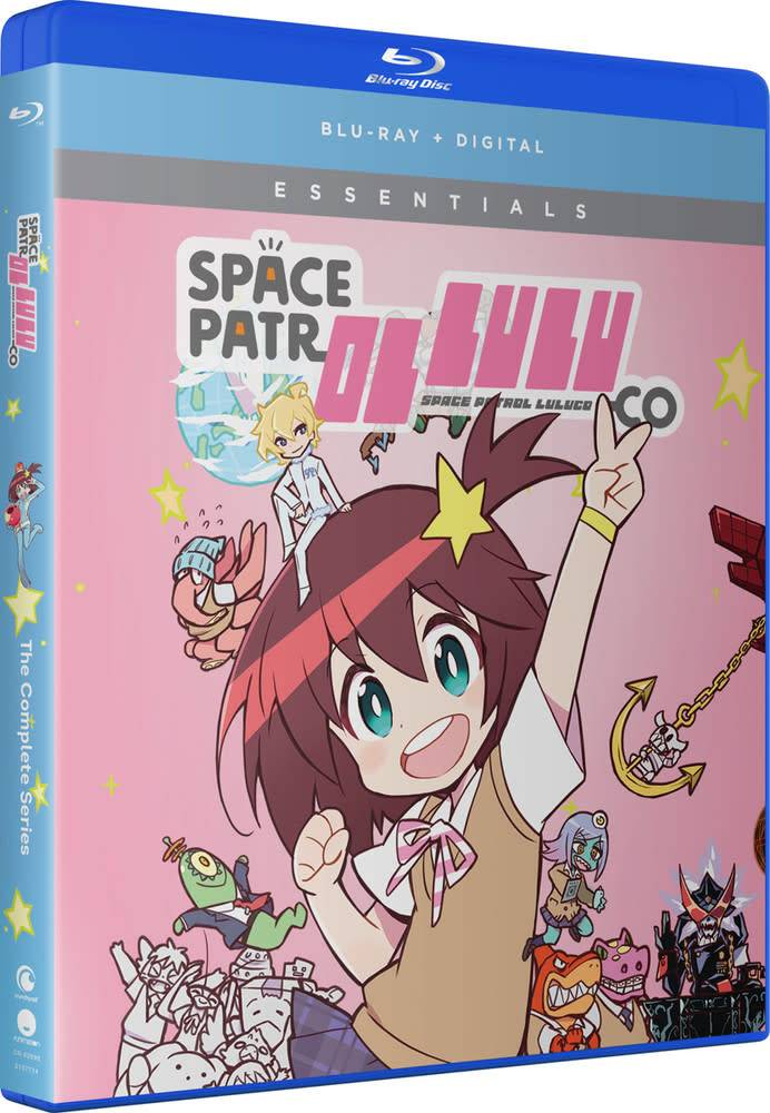Funimation Entertainment Space Patrol Luluco Essentials Blu-Ray