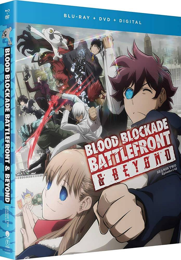 Funimation Entertainment Blood Blockade Battlefront and Beyond Blu-Ray/DVD