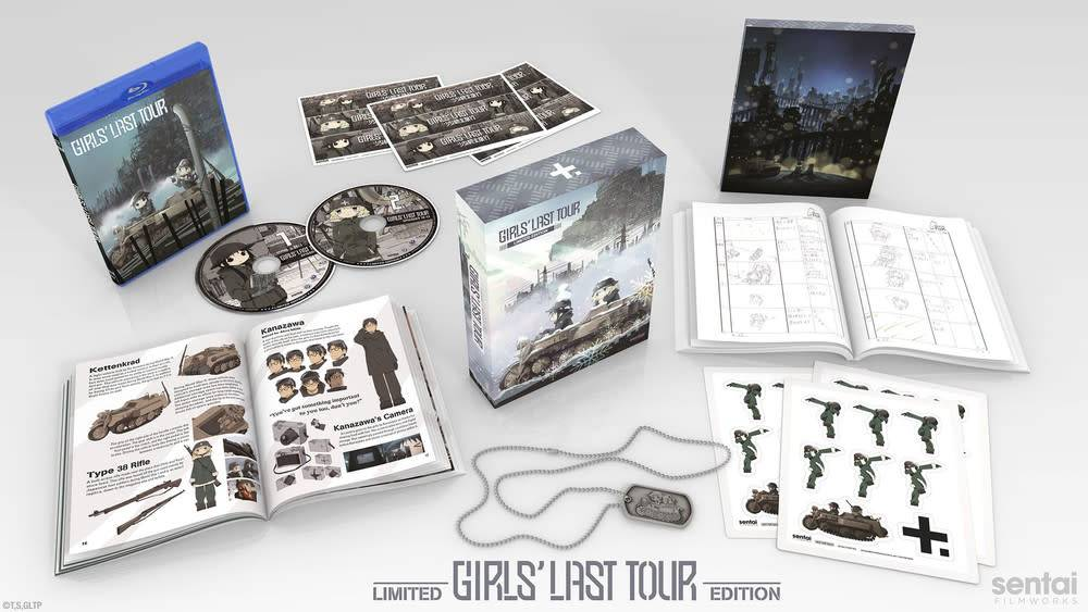 Sentai Filmworks Girls Last Tour Premium Box Set Blu-Ray