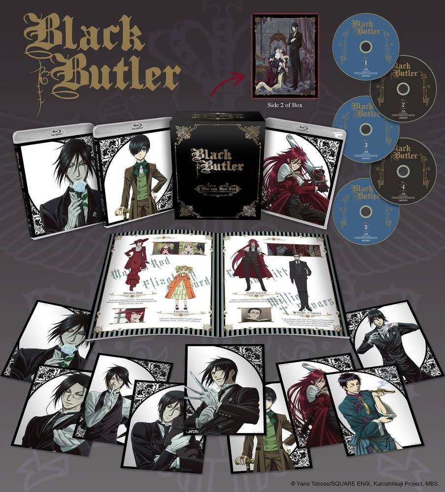 Aniplex of America Inc Black Butler Complete Box Set Blu-Ray