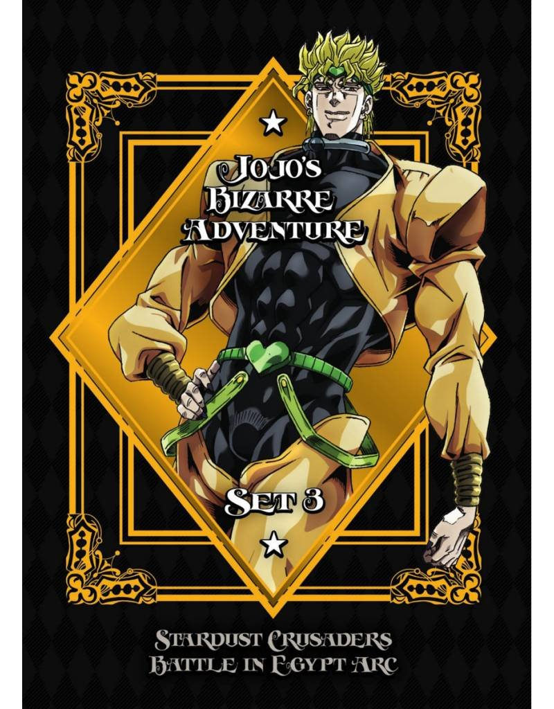 Viz Media Jojo's Bizarre Adventure Season 3 DVD