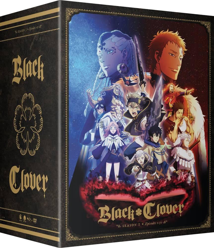Funimation Entertainment Black Clover Season 1 Part 3 Collectors Box Blu-Ray/DVD*