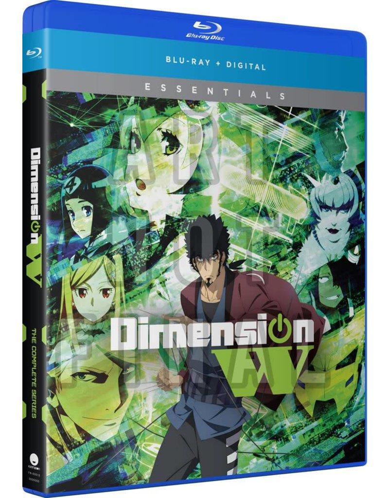 Funimation Entertainment Dimension W Essentials Blu-Ray