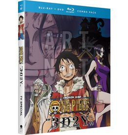 Funimation Entertainment One Piece 3D2Y Overcoming Ace's Death! Blu-Ray/DVD