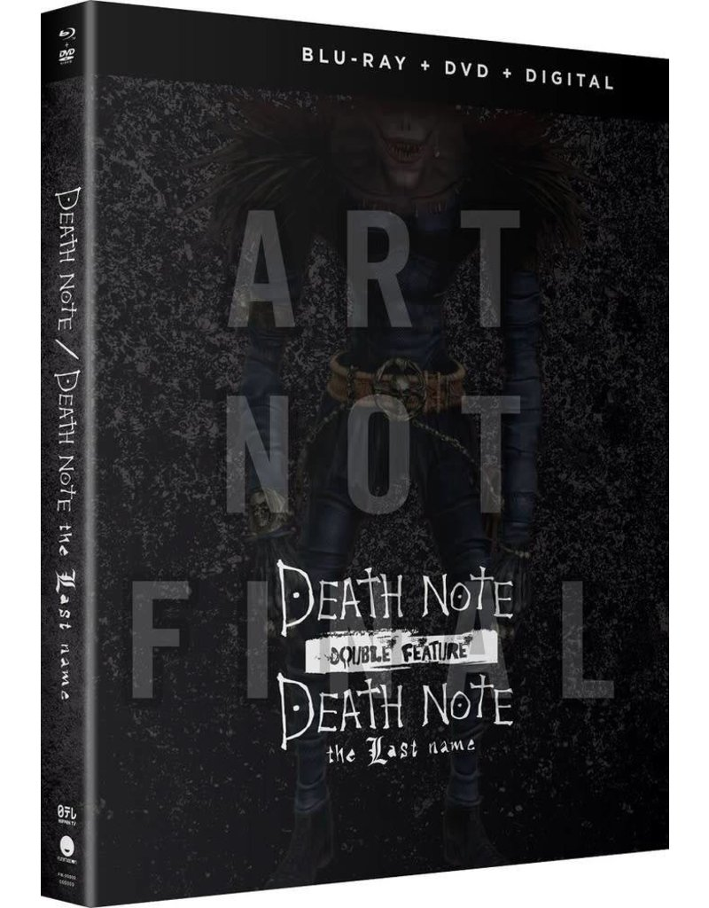 Funimation Entertainment Death Note Movies 1-2 Blu-Ray/DVD