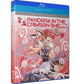 Funimation Entertainment Pandora in the Crimson Shell Essentials Blu-Ray