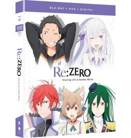 Funimation Entertainment Re:ZERO Starting Life Another World Season 1 Part 2 Blu-Ray/DVD