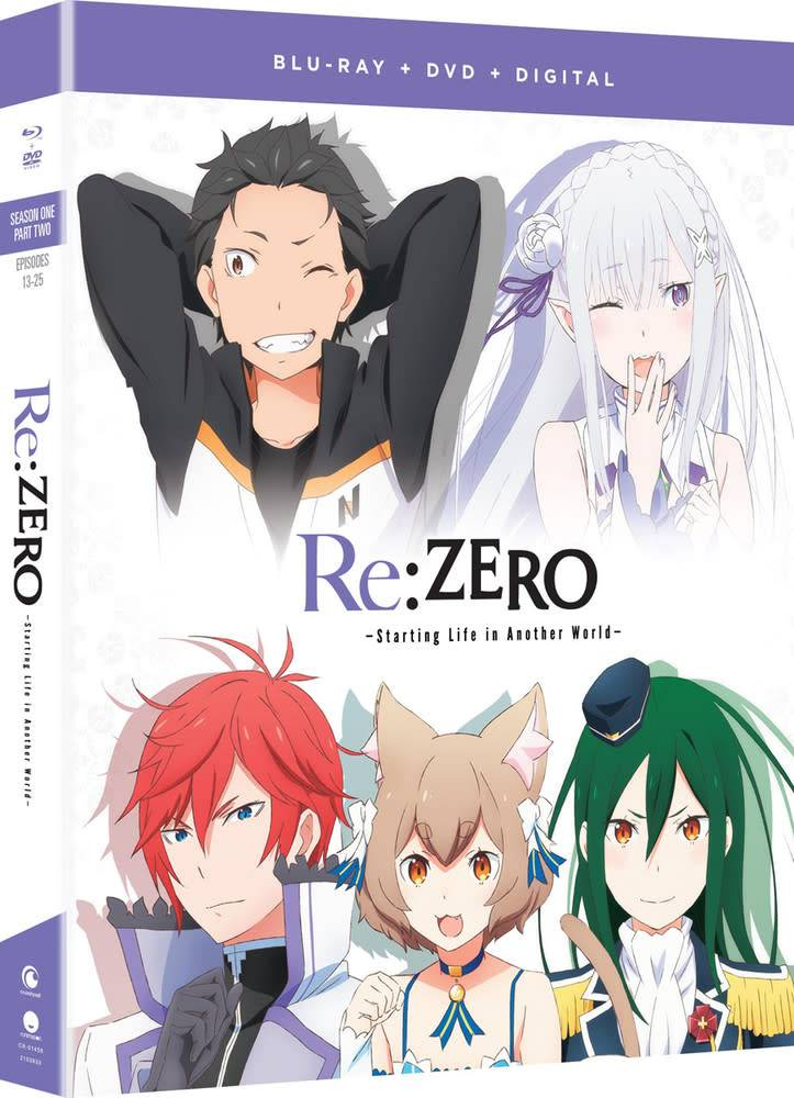 Funimation Entertainment Re:ZERO Starting Life Another World Season 1 Part 2 Blu-Ray/DVD