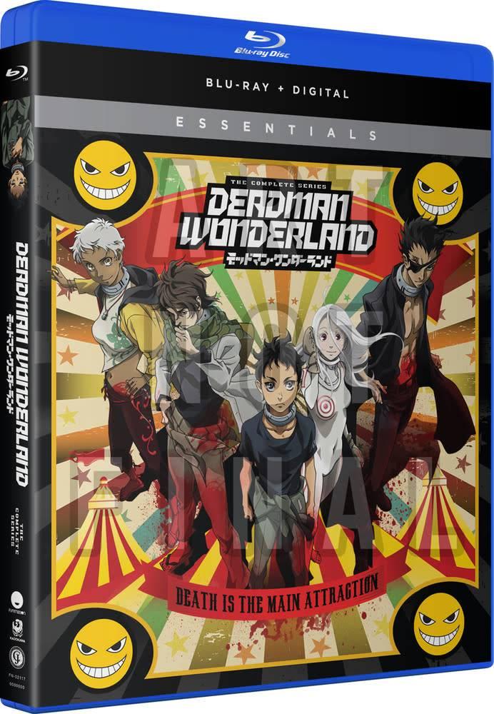 Funimation Entertainment Deadman Wonderland Essentials Blu-Ray