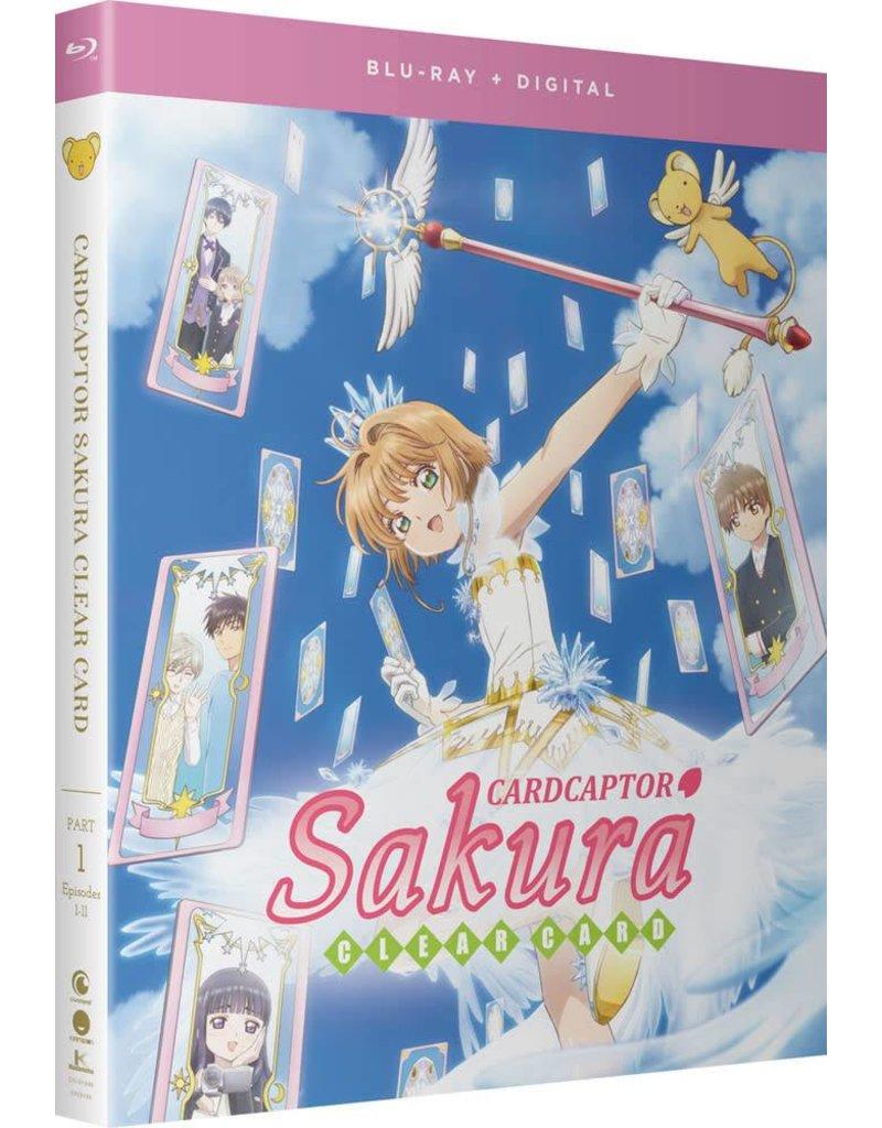Funimation Entertainment Cardcaptor Sakura Clear Card Part 1 Blu-Ray/DVD*