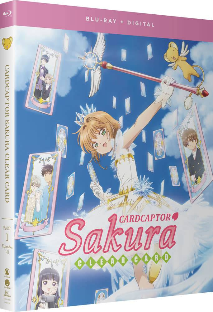 Funimation Entertainment Cardcaptor Sakua Clear Card Part 1 Blu-Ray/DVD