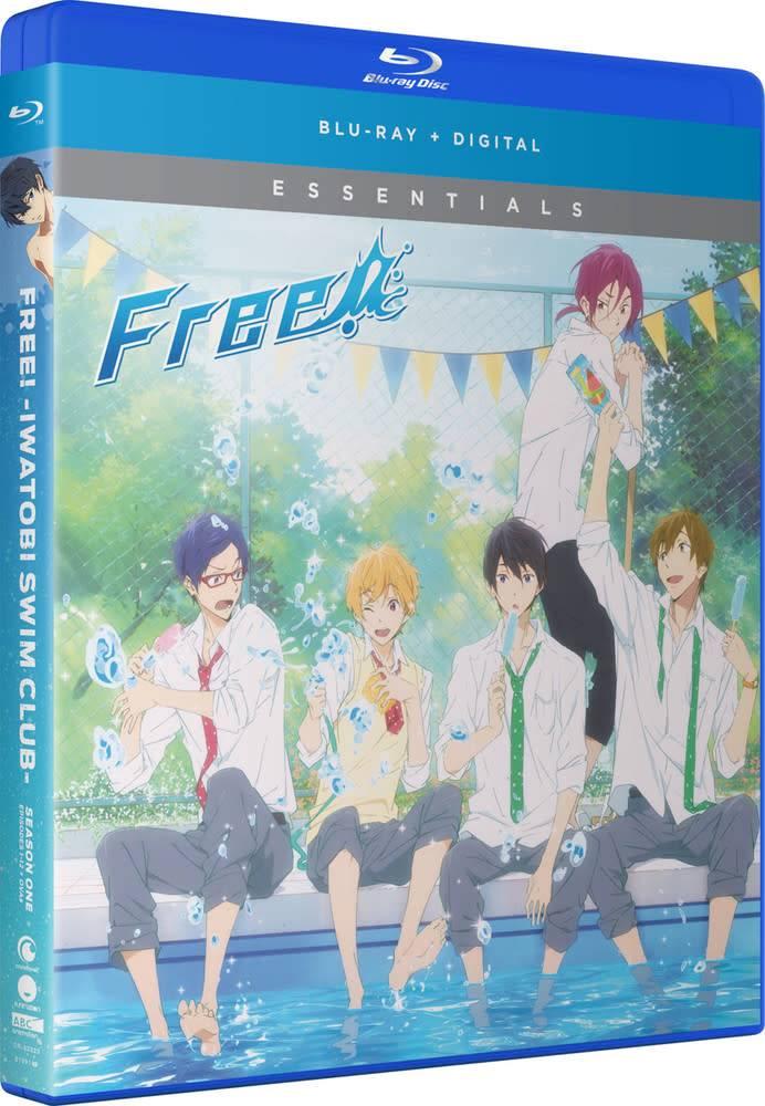 Funimation Entertainment Free! Iwatobi Swim Club Season 1 Essentials Blu-Ray