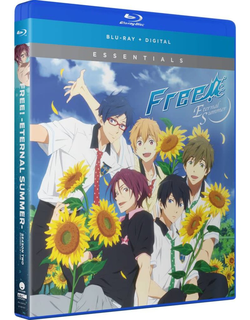 Funimation Entertainment Free! Eternal Summer Season 2 Essentials Blu-Ray