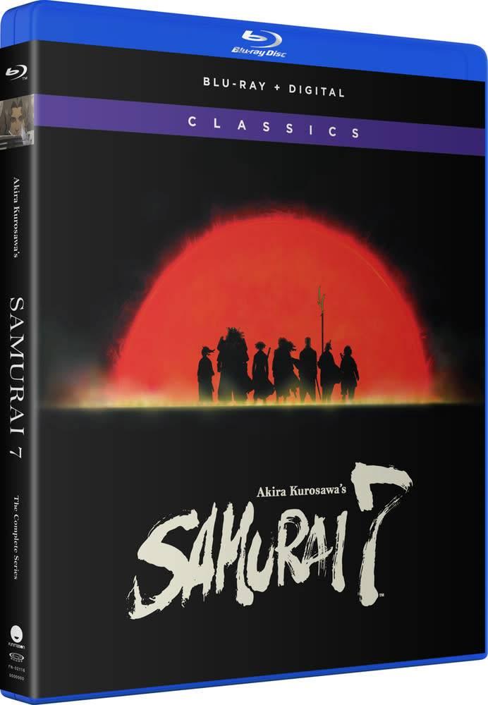 Funimation Entertainment Samurai 7 Complete Series Classics Blu-Ray