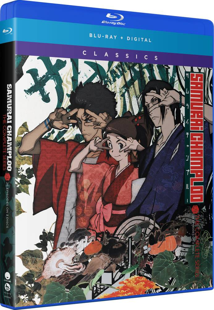 Funimation Entertainment Samurai Champloo Classics Blu-Ray