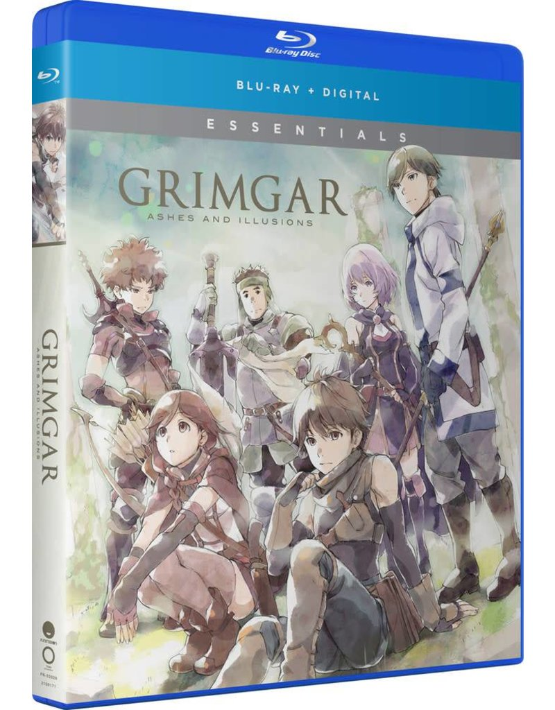 Funimation Entertainment Grimgar Ashes and Illusions Essentials Blu-Ray