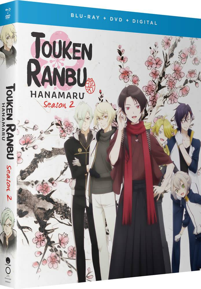 Funimation Entertainment Touken Ranbu Hanamaru Season 2 Blu-Ray/DVD