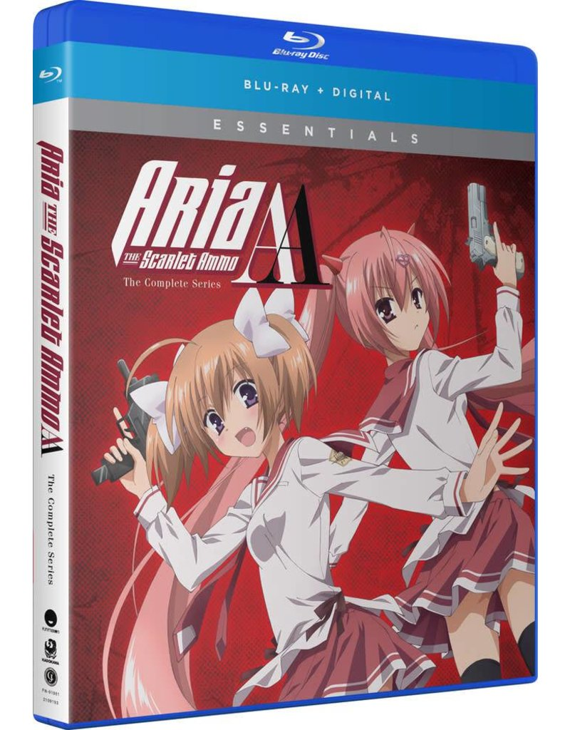 Funimation Entertainment Aria the Scarlet Ammo AA Essentials Blu-Ray