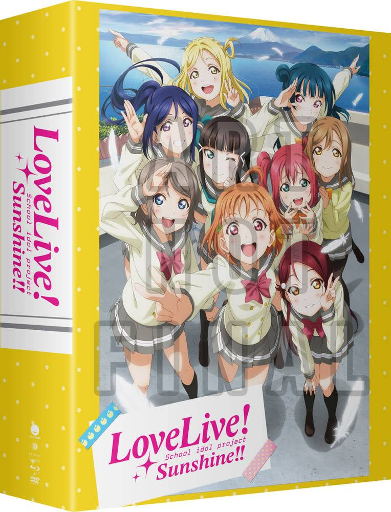 Funimation Entertainment Love Live! Sunshine!! Season 2 Blu-Ray/DVD LE