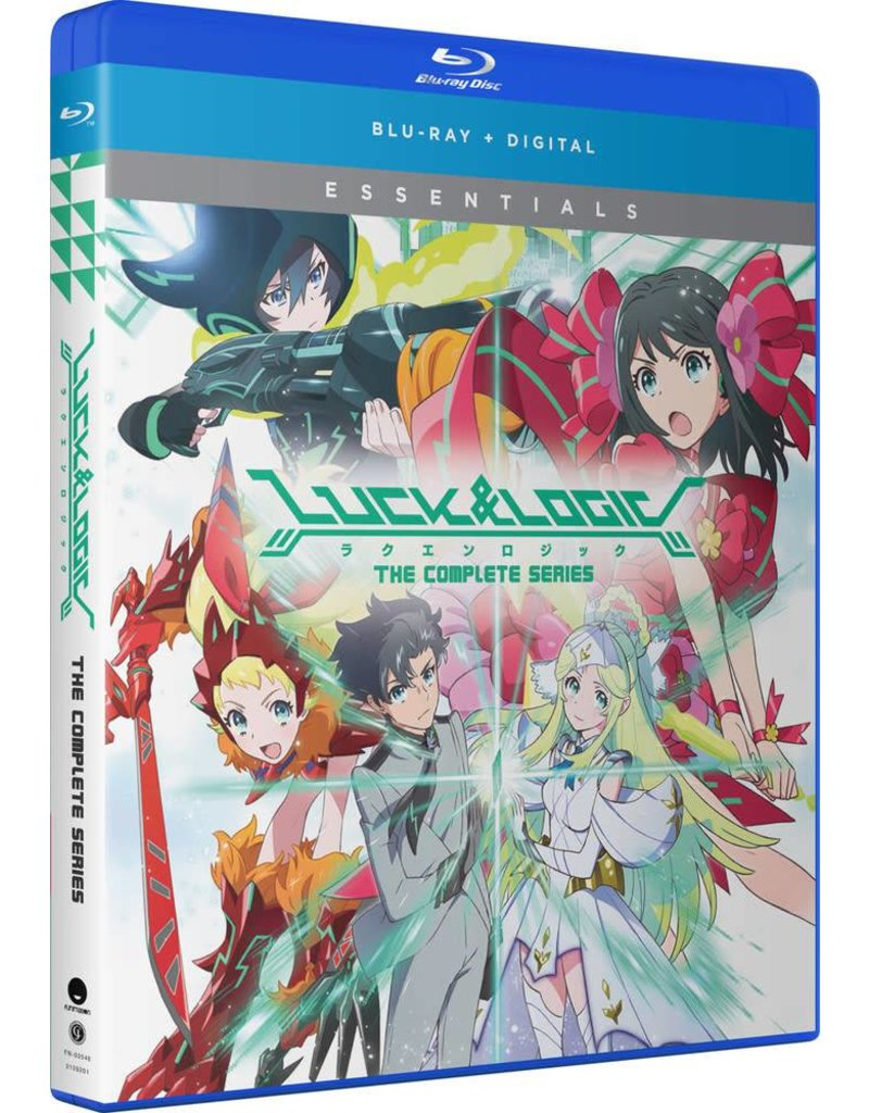 Funimation Entertainment Luck and Logic Essentials Blu-Ray