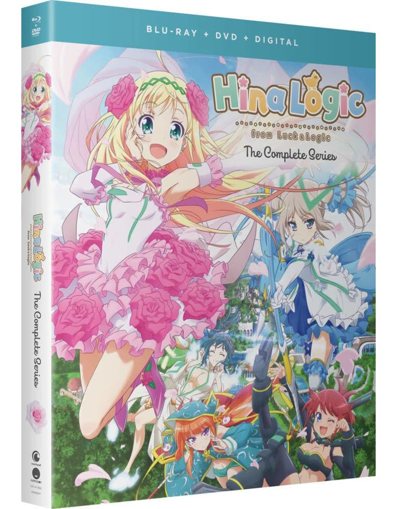 Funimation Entertainment Hina Logic From Luck and Logic Blu-Ray/DVD